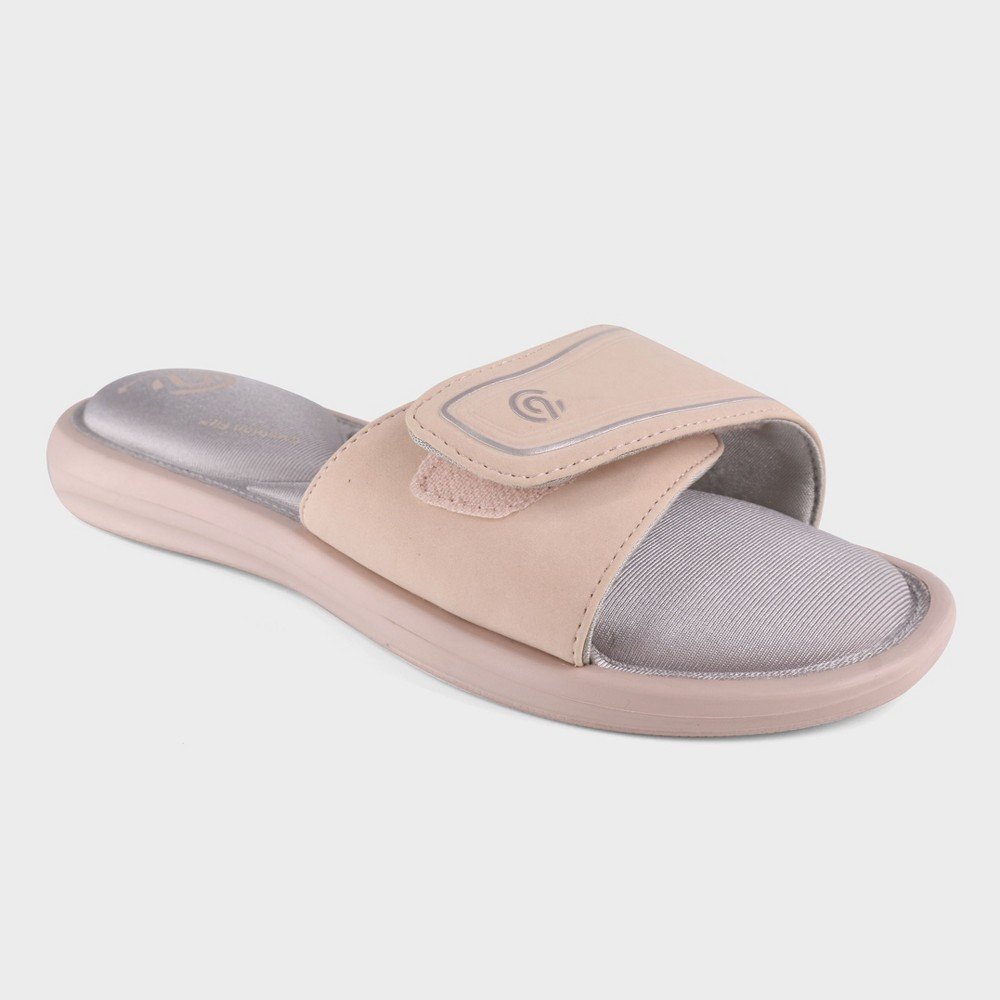 Women's Cala Cush Slide Sandals - C9 Champion Blush 5, Pink
