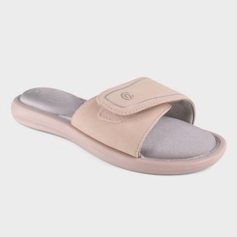 8bab1973da1 Women s Cala Cush Slide Sandals - C9 Champion® Blush   Target