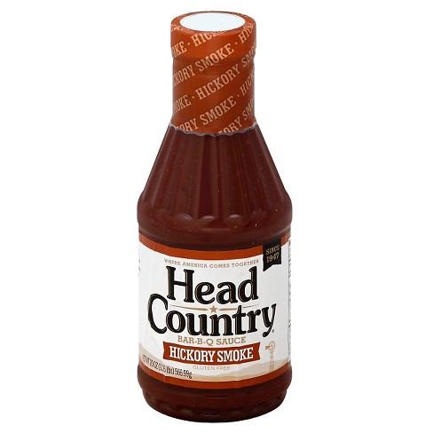 Head Country Bar-B-Q Sauce Hickory Smoke - 20oz - image 1 of 1