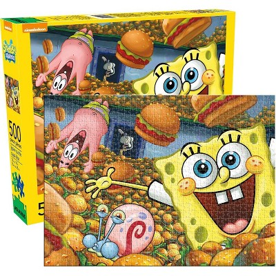 NMR Distribution SpongeBob SquarePants 500 Piece Jigsaw Puzzle