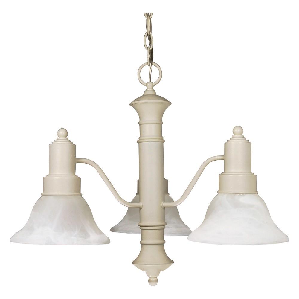Ceiling Lights Chandelier Textured White - Aurora Lighting