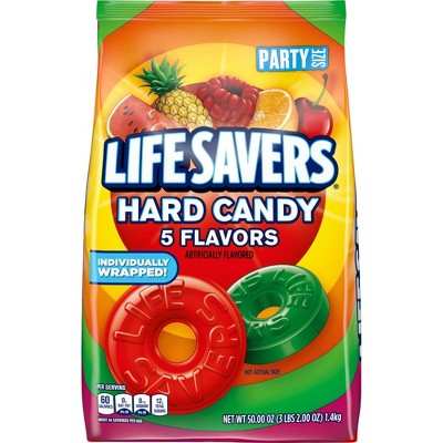 Life Savers Five Flavor Party Size Hard Candy - 50oz