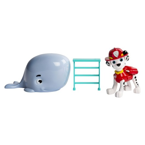 Paw Patrol Marshall and Baby Whale Rescue Set - image 1 of 3