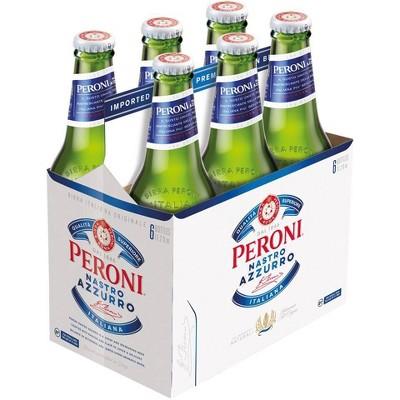 Peroni Nastro Azzurro Beer - 6pk/11.2 fl oz Bottles