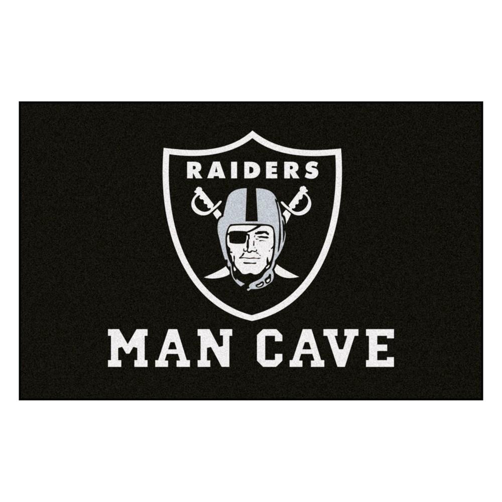 NFL Oakland Raiders Man Cave Starter Rug 19