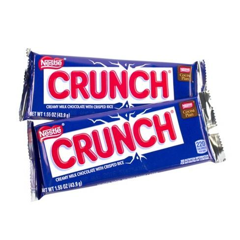 Crunch Chocolate Candy Bars - ...