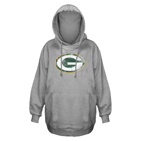 a53a7c72 Green Bay Packers Women's Plus Size Team Logo Fleece Pullover Hoodie  Sweatshirt - 4X