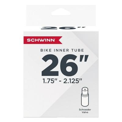 """Schwinn 26"""" Bike Tire Tube - Black"""