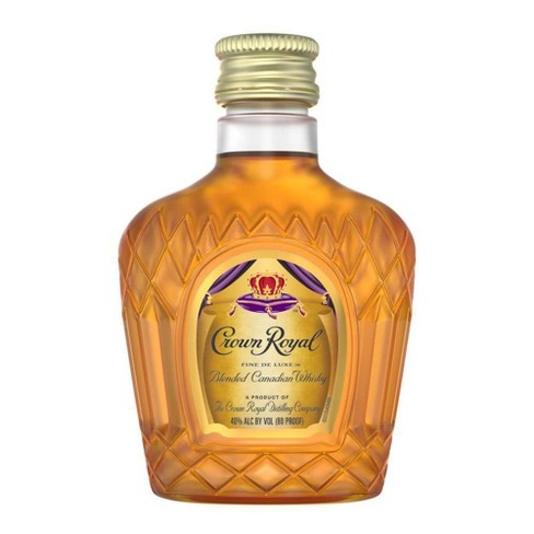 Crown Royal Canadian Whisky - 50ml Plastic Bottle - image 1 of 4