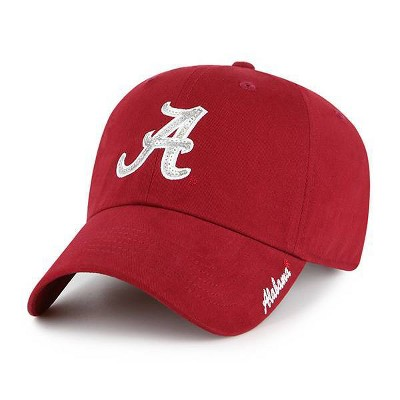 NCAA Alabama Crimson Tide Women's Brushed Cotton Relaxed Fit Hat