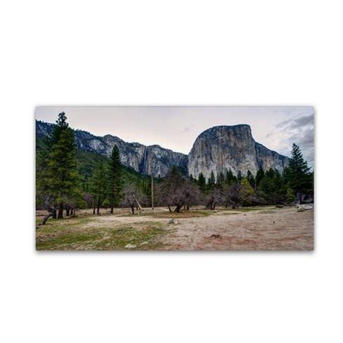 "Trademark Fine Art 24"" x 12"" David Ayash 'Yosemite National Park California Ii' Canvas - image 1 of 3"
