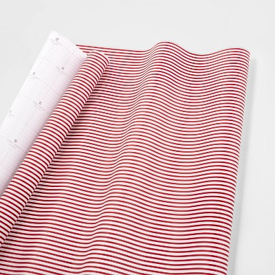 Red And White Stripe Gift Wrap Single Roll   Sugar Paper™ by Sugar Paper