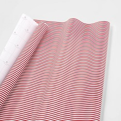 Red and White Stripe Gift Wrap Single Roll - sugar paper™