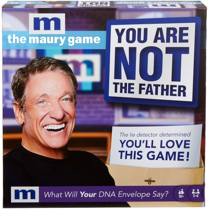 The Maury Game: You Are Not The Father Game : Target