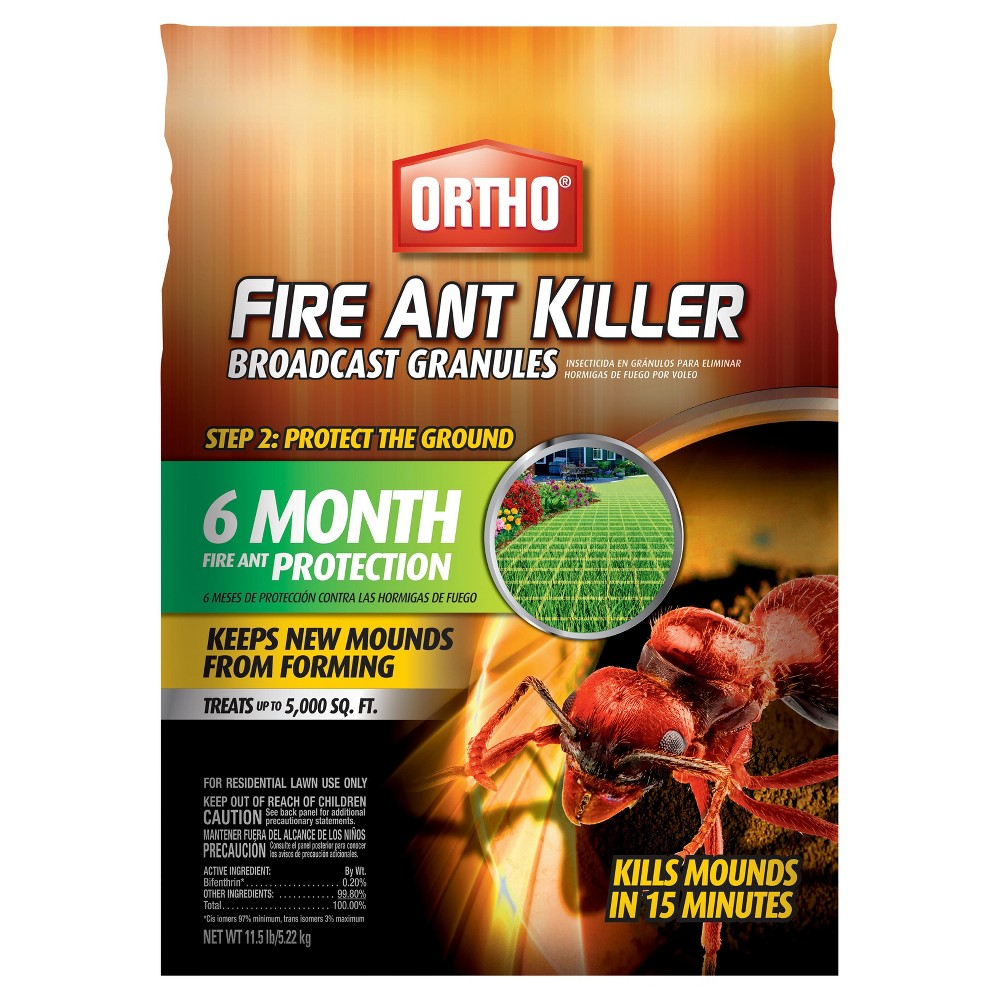 Image of Ortho Fire Ant Killer Max Broadcast 11.5lb Granules