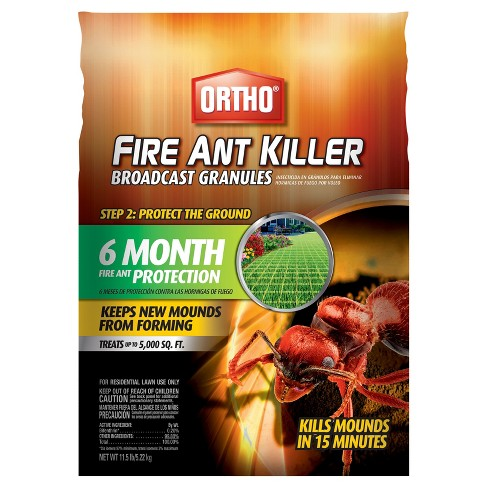 Ortho Fire Ant Killer Max Broadcast 11.5lb Granules - image 1 of 1
