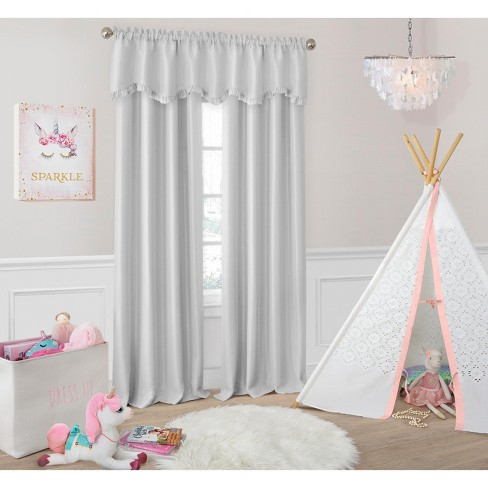Adaline Nursery and Kids Blackout Window Curtain - Elrene Home Fashions - image 1 of 4