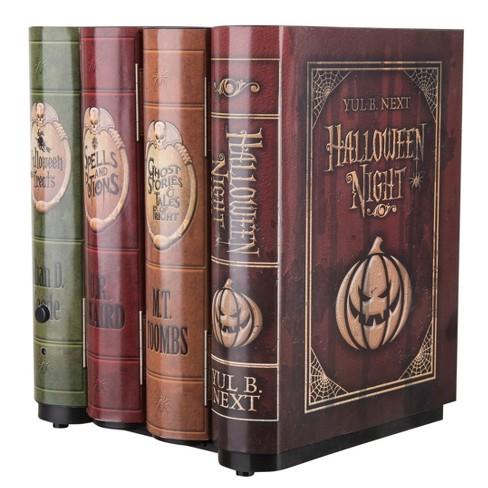 "8"" x 6"" Halloween Animated Moving Books"