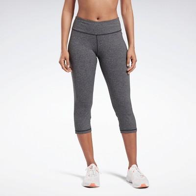 Reebok Lux 3/4 Length 2 Leggings Womens Athletic Leggings