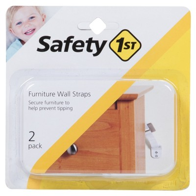 Safety 1st® Furniture Wall Straps - 2pk