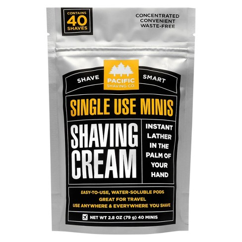 Pacific Shaving Company Shaving Cream Minis - 40 ct - image 1 of 3