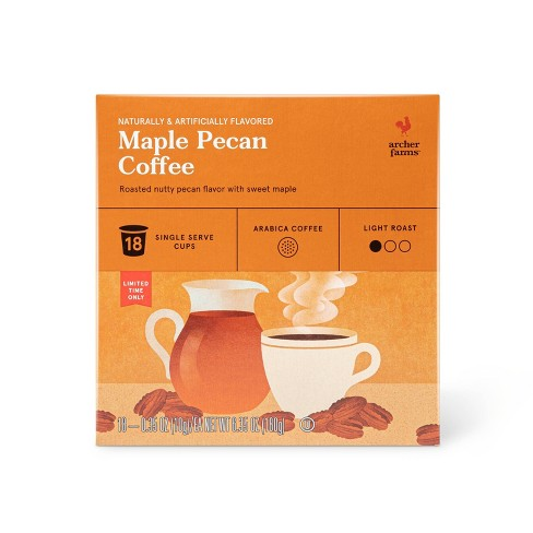 Maple Pecan Flavored Light Roast Ground Coffee - 12oz - Archer Farms™ - image 1 of 1