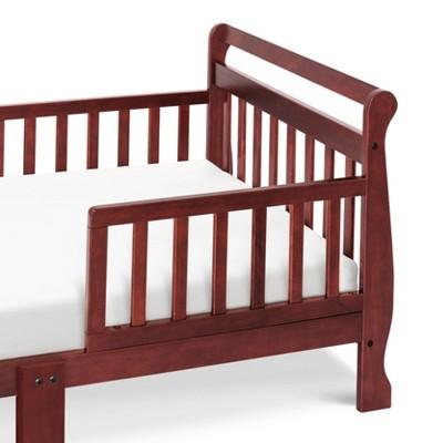 DaVinci Sleigh Toddler Bed - Cherry, Red