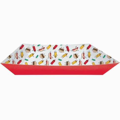 2ct Paper Food Print Tray - image 1 of 1