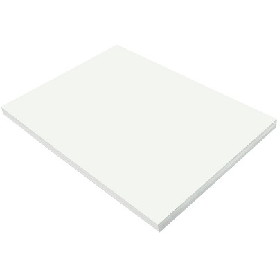 SunWorks Heavyweight Construction Paper, 18 x 24 Inches, White, 100 Sheets