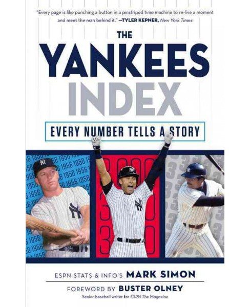 Yankees Index : Every Number Tells a Story (Paperback) (Mark Simon) - image 1 of 1