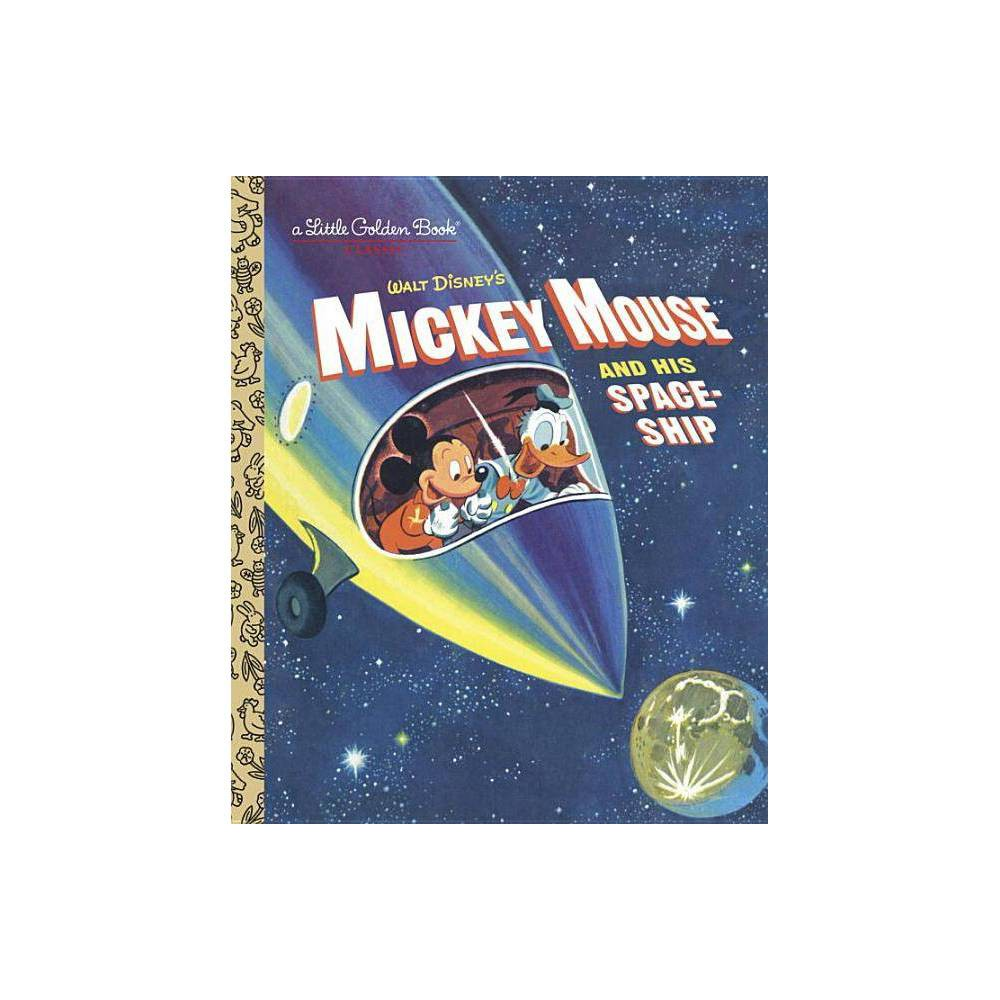 Mickey Mouse And His Spaceship Hardcover Jane Werner