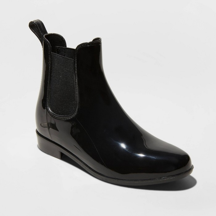 Women's Chelsea Rain Boots - A New Day™ - image 1 of 3