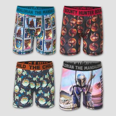 Boys' Star Wars Baby Yoda 4pk Underwear