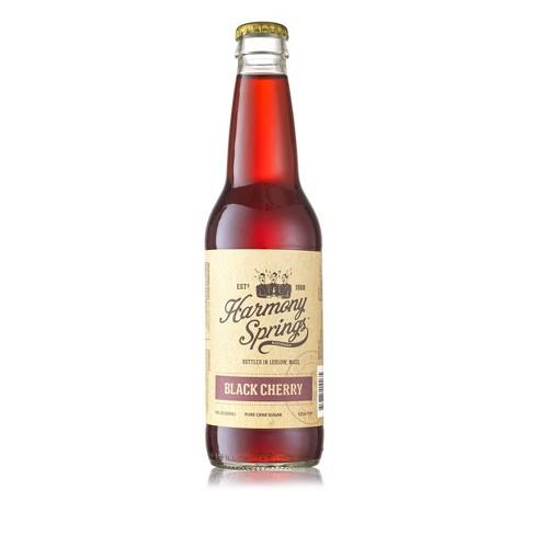 Harmony Springs Black Cherry Soda - 12 fl oz bottle - image 1 of 1