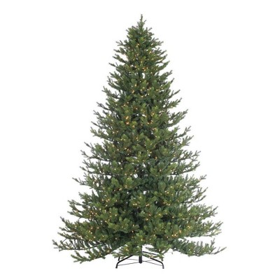 9ft Sterling Tree Company Full Natural Cut Rockford Pine with 1050 Clear Lights Artificial Christmas Tree
