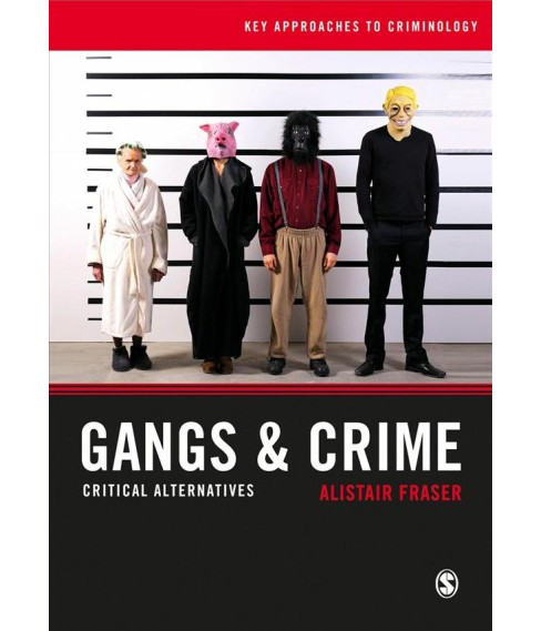 Gangs & Crime : Critical Alternatives -  by Alistair Fraser (Paperback) - image 1 of 1