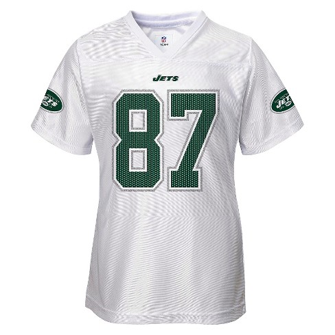 New York Jets Toddler/Infant Girls White Jersey 3T - image 1 of 2