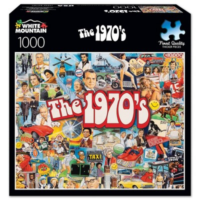 White Mountain The 1970's Jigsaw Puzzle - 1000pc