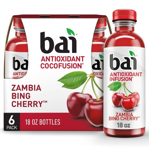Bai Bing Cherry Flavored Water - 6pk/18 fl oz Bottles - image 1 of 4