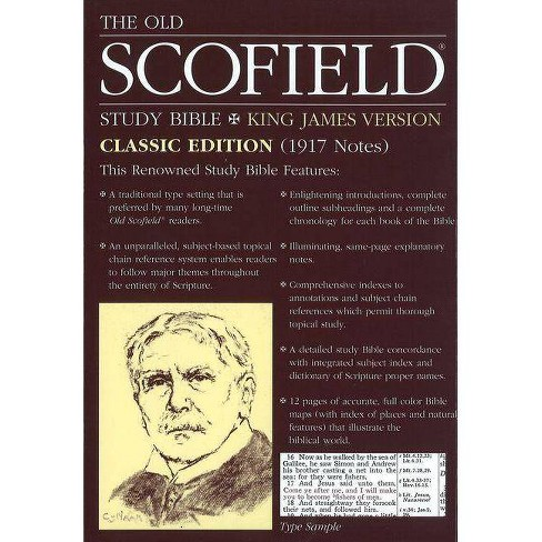 Old Scofield Study Bible-KJV-Classic - (Leather_bound) - image 1 of 1