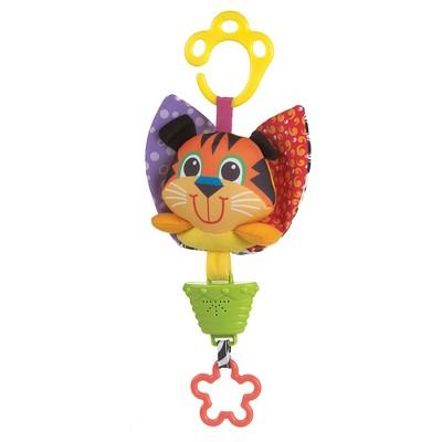 Playgro Musical Pullstring Tiger Sensory Development Baby Toy