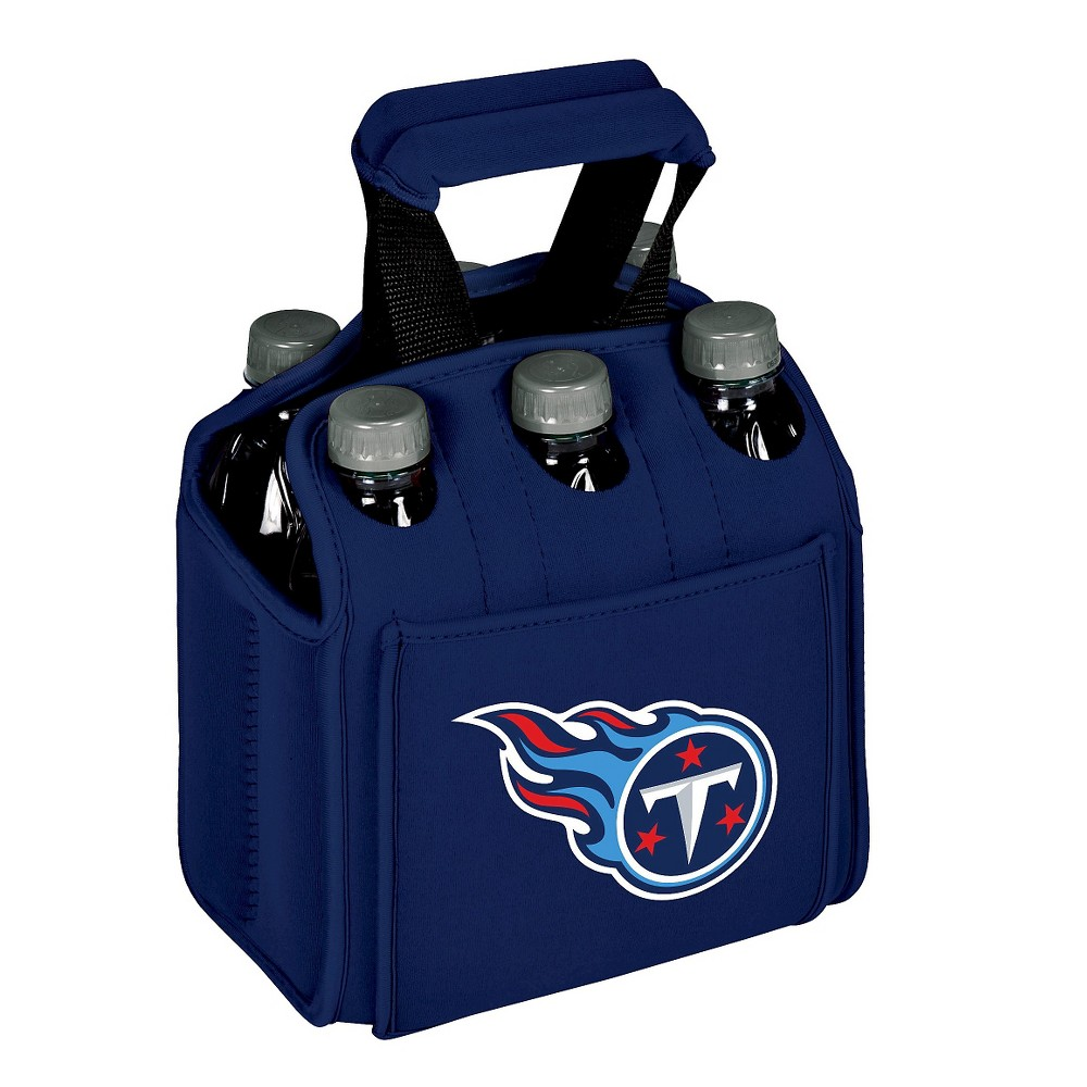 Tennessee Titans - Six Pack Beverage Carrier by Picnic Time (Navy)