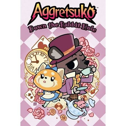 Aggretsuko: Down the Rabbit Hole - by  Patabot (Hardcover) - image 1 of 1