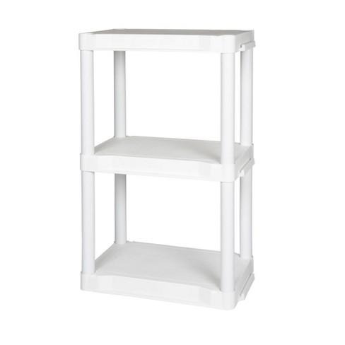 Plano Indoor 3 Shelf Utility Storage White - image 1 of 4