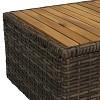 Kenmare 4pc Rattan Outdoor Conversation Set - Sunnydaze Decor - image 2 of 4