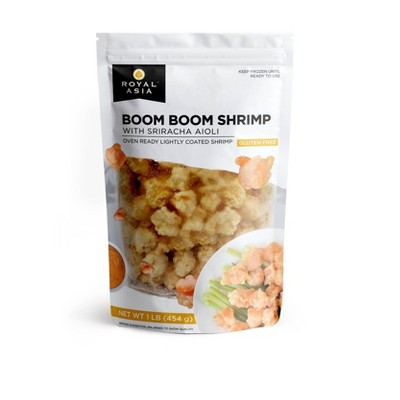 Royal Asia Gluten Free Boom Boom Shrimp with Sriracha Aioli - Frozen - 16oz