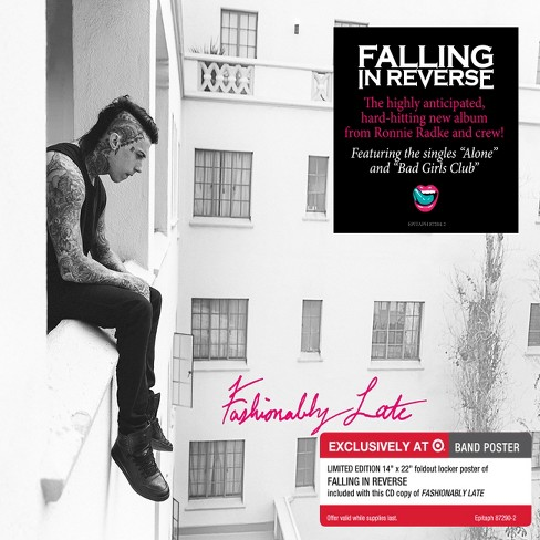 Falling In Reverse - Fashionably Late - Only at Target - image 1 of 1