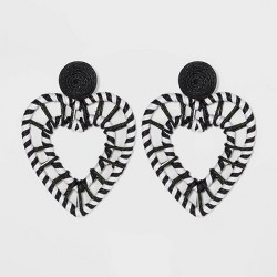 SUGARFIX by BaubleBar Intricate Heart Drop Earrings