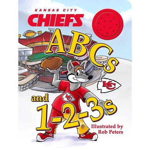 Kansas City Chiefs ABCs and 123s - (Board_book) - image 1 of 1