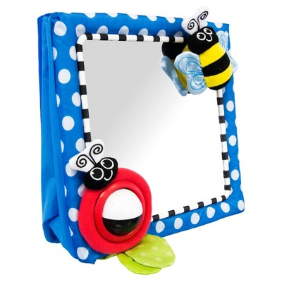 Sassy® Baby Sensory Development Floor Mirror